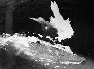 Yamato Terbakar