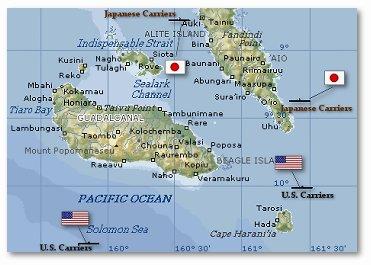 guadacanal map