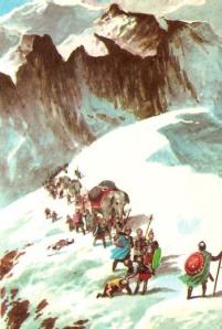 Melintasi Pegunungan Alpen