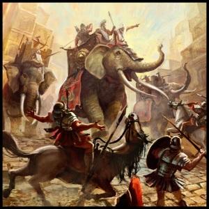 Pasukan gajah Hannibal