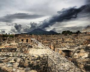 Reruntuhan Kota Pompei