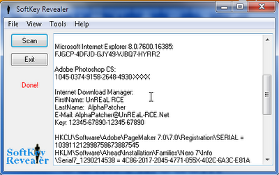 software untuk mengetahui serial number suatu program