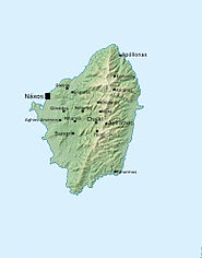 Peta pulau Naxos