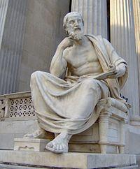 Patung Heradotos di Wina Austria