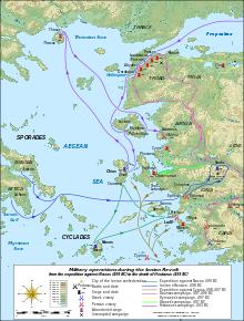 Peta Pemberontakan Ionia