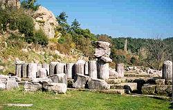Kuil Zeus di Labraunda