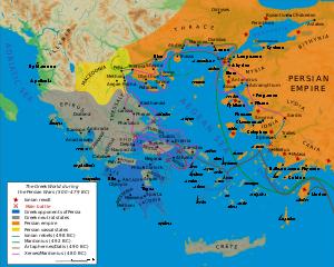 Peta Perang Yunani-Persia