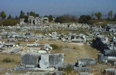 Reruntuhan kota Miletos
