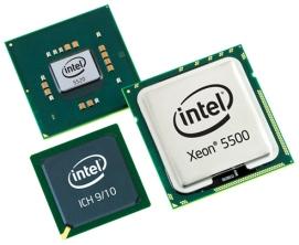 Microprocessor intel xeon